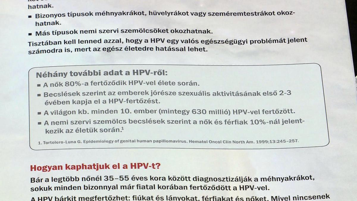 hpv vakcina Róma